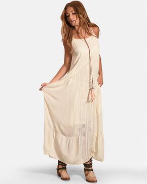 Polagram Women's Sheer Lace Dress, Ivory, hi-res