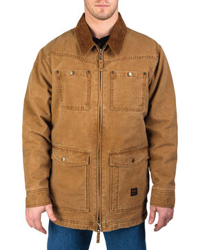 Walls Men's Vintage Duck Barn Coat, Pecan, hi-res