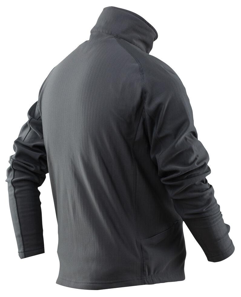 Tru-Spec Men's 24-7 Grid Fleece Pullover , Grey, hi-res