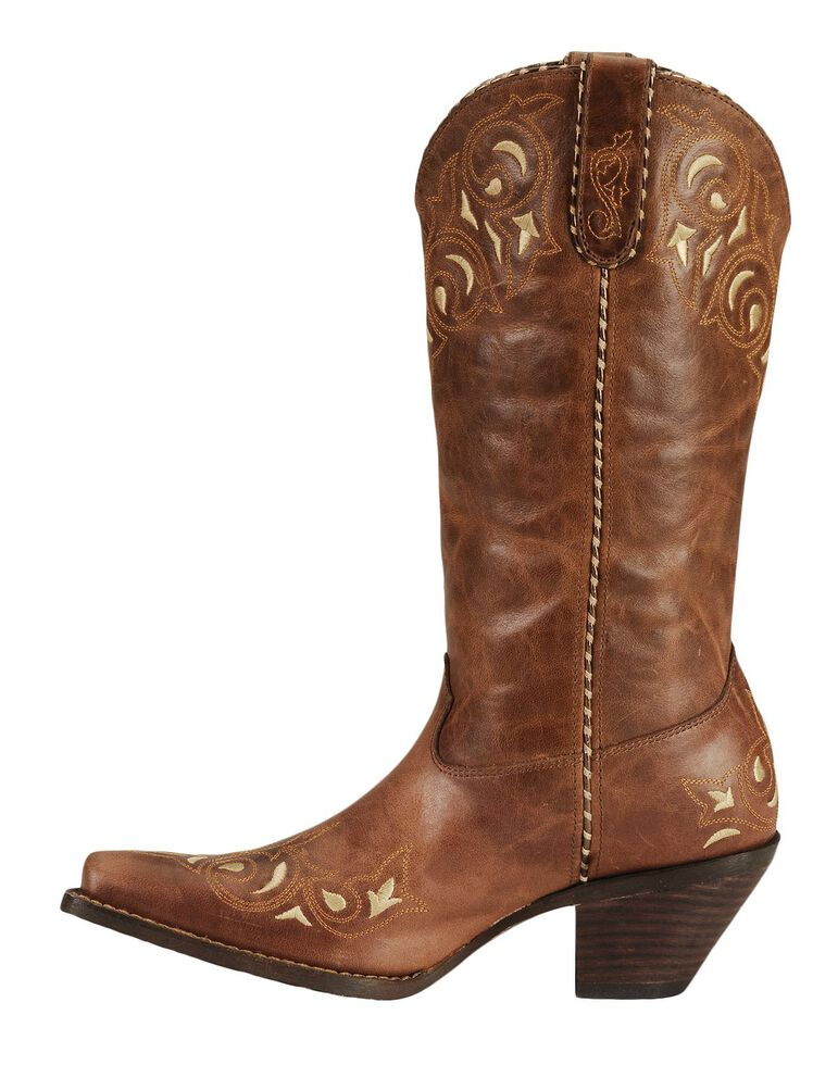 Durango Sassy Whipstitch Cowgirl Boots - Square Toe, , hi-res