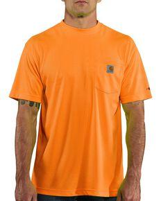 Carhartt Force Color-Enhanced T-Shirt, Orange, hi-res