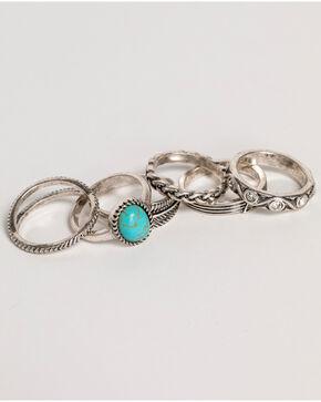 Shyanne Women's Mini Ring Set, Silver, hi-res