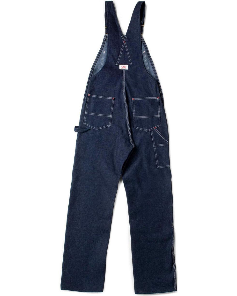 Round House Men's Blue Classic Fly Bib Overalls - Big , Blue, hi-res