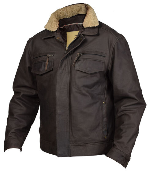 STS Ranchwear Men's Scout Jacket - Big & Tall, Brown, hi-res