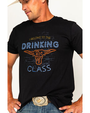 Cody James Drinking Class Short Sleeve T-Shirt, Black, hi-res