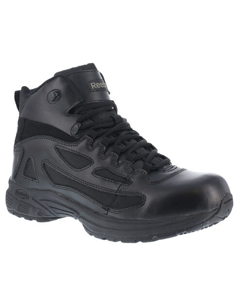 Reebok Men's Rapid Response Work Boots, Black, hi-res