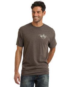 Wrangler Men's Buckin Dream Graphic T-Shirt , Brown, hi-res