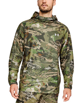 Under Armour Men's Camo Off Grid Popover Hoodie, Camouflage, hi-res