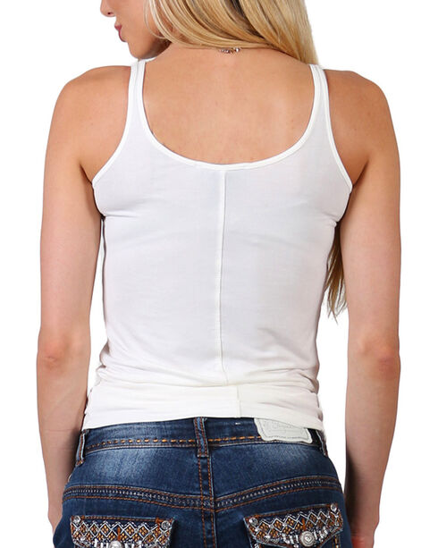 Shyanne Women's White Classic Layering Tank , Ivory, hi-res