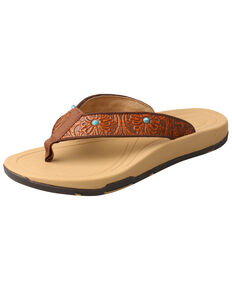 4048300a9587bf Twisted X Womens Tooled Studded Sandals