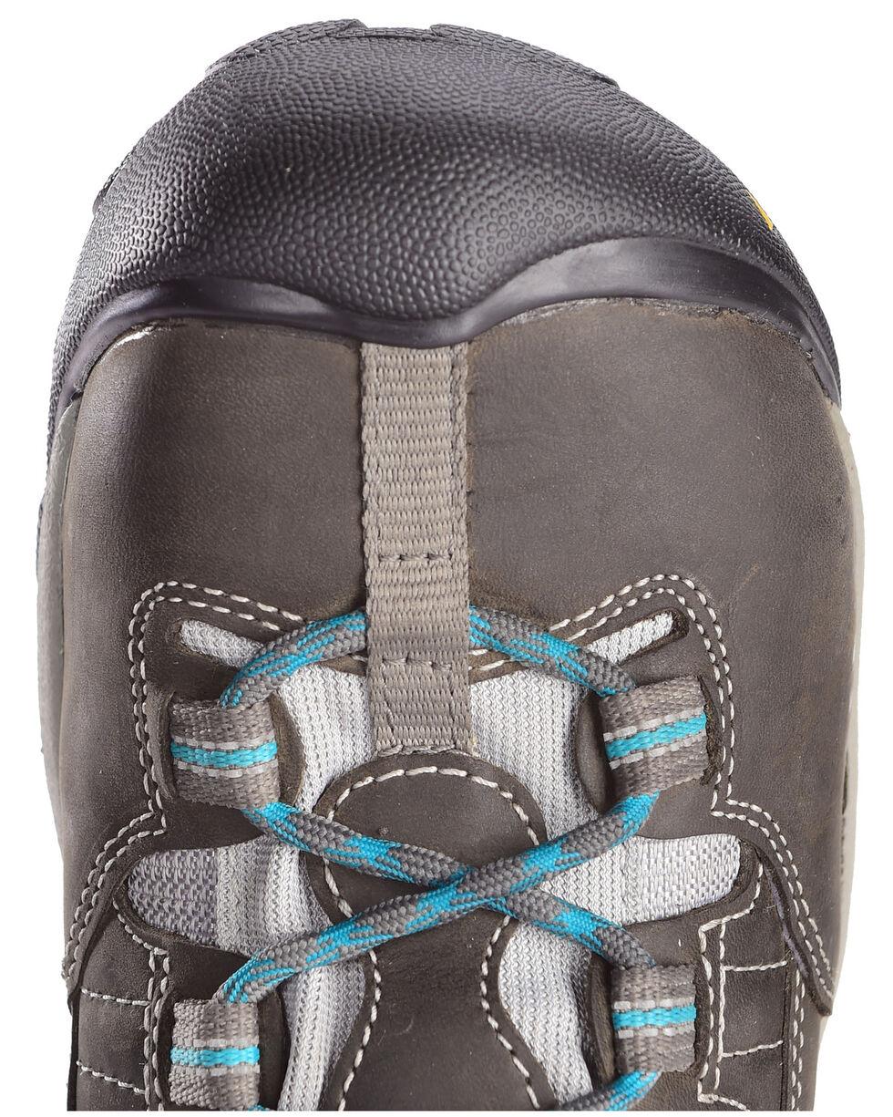 Keen Women's Detroit Mid Boots - Steel Toe, Green, hi-res