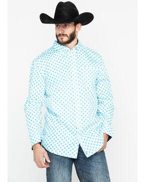 Cody Core Men's Astro Geo Long Sleeve Western Shirt , White, hi-res