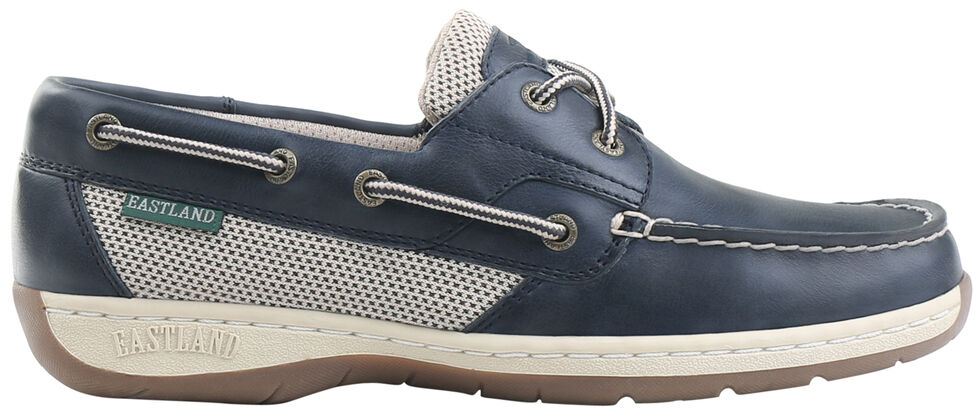 Eastland Women's Navy Solstice Boat Shoe Oxfords  , , hi-res