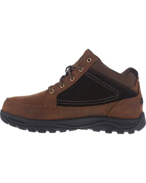 Rockport Men's Trail Hiker Boots - Steel Toe , Brown, hi-res