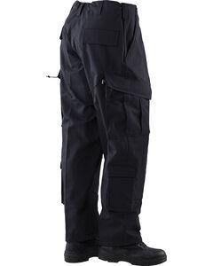 Tru-Spec Tactical Response Camo RipStop Uniform Pants, Black, hi-res