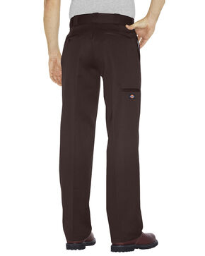 Dickies Loose Fit Double Knee Work Pants - Big & Tall, Dark Brown, hi-res