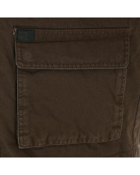 Wrangler Men's RIGGS Workwear Foreman Vest, Brown, hi-res