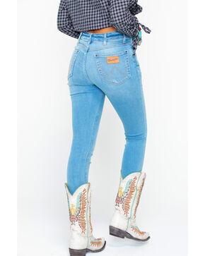 Wrangler Women's Modern Palm Springs High Rise Skinny Jeans , Blue, hi-res