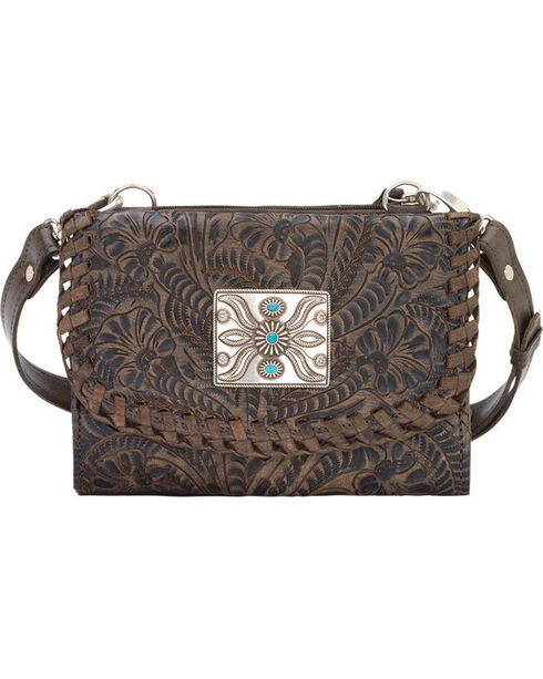 American West Women's Two Step Small Crossbody Bag , , hi-res