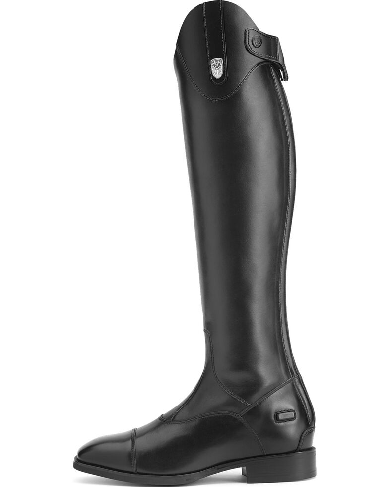 Ariat Women's Monaco Stretch Tall Zip Riding Boots, Black, hi-res