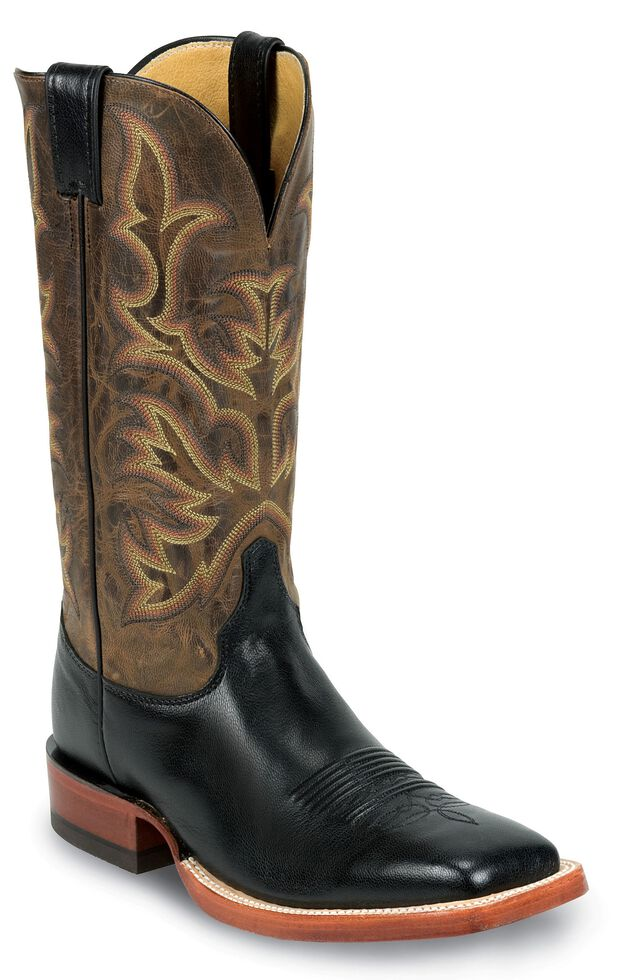 Justin AQHA Kidskin Cowboy Boots - Square Toe, , hi-res