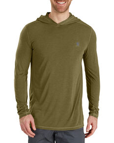 Carhartt Men's Force Extremes Hooded Pullover , Olive, hi-res