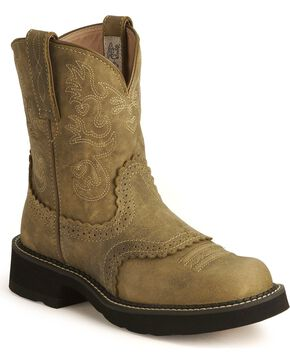 Ariat Fatbaby Cowgirl Boots, Brown, hi-res