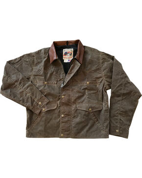 Schaefer Outfitter Men's Oak Rangewax Summit Jacket, Distressed Brown, hi-res