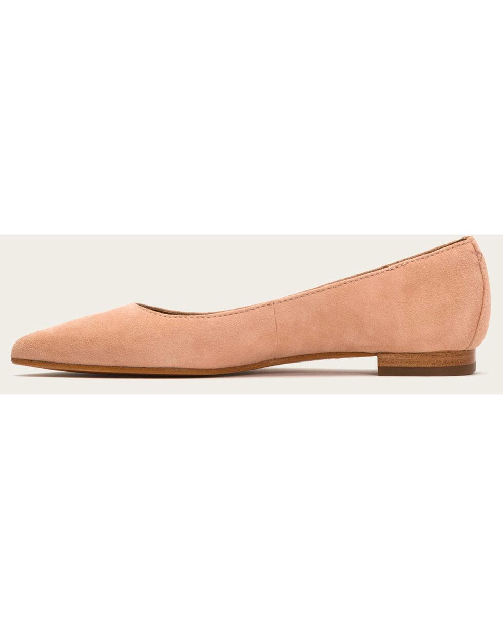 Frye Women's Blush Suede Sienna Ballet Shoes , Pink, hi-res