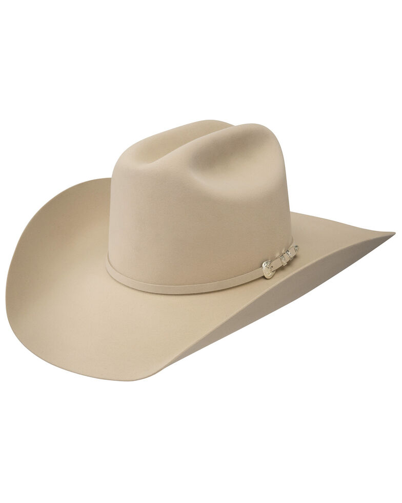 Resistol Pure 100x Beaver Fur Felt Cowboy Hat  9ba5e36d00be