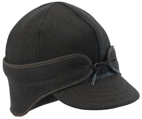 Stormy Kromer Men's Black The Rancher Cap, Black, hi-res