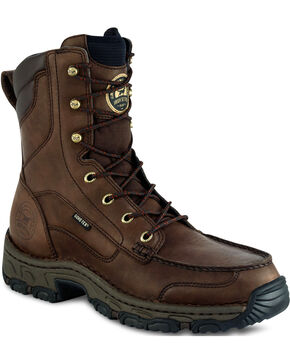 "Irish Setter by Red Wing Shoes Men's Havoc 9"" Hunting Boots - Moc Toe, Brown, hi-res"