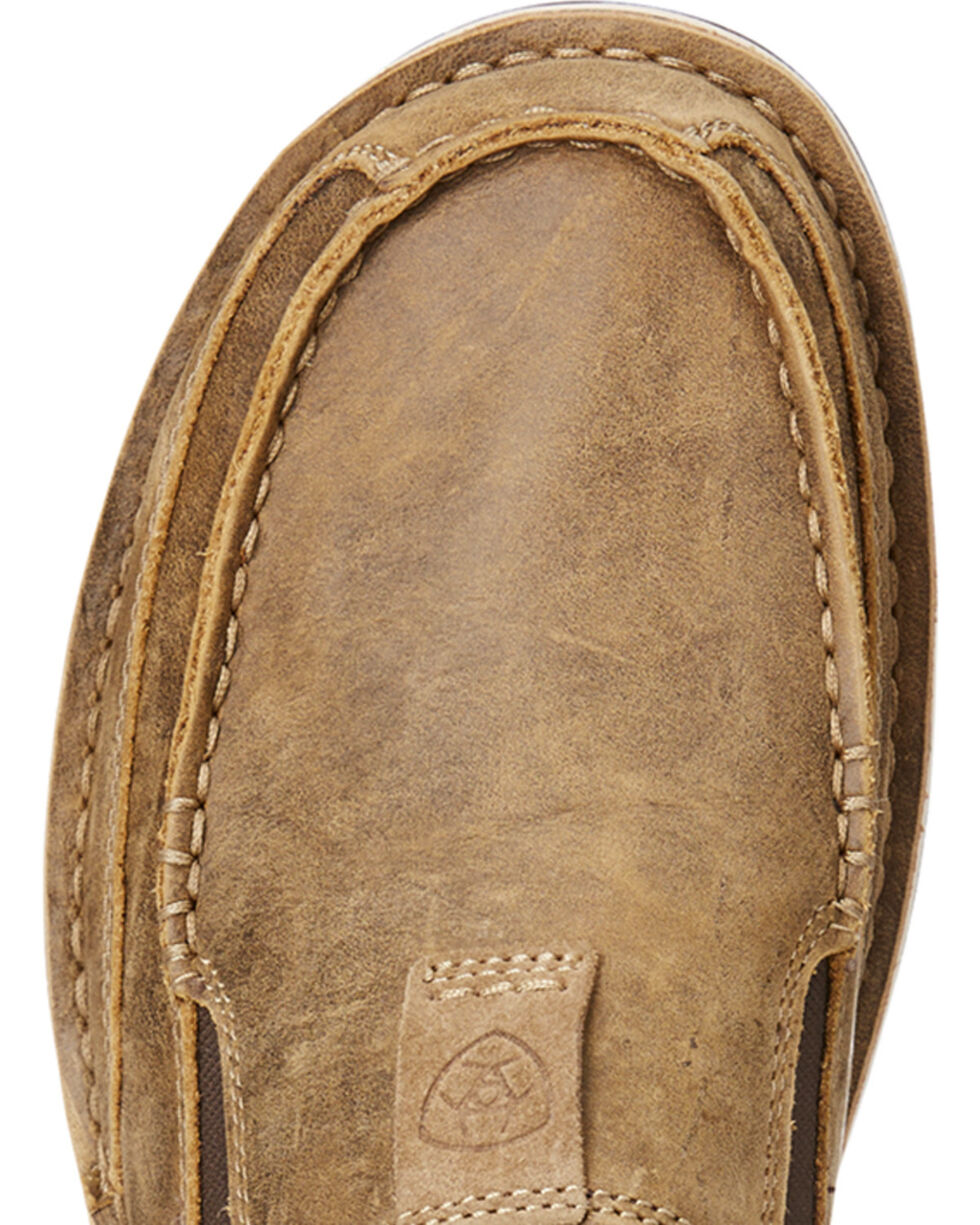 Ariat Men's Brown Cruiser Bomber Slip-On Shoes , Brown, hi-res