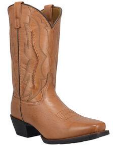 Laredo Men's Walnut Creek Western Boots - Square Toe, Tan, hi-res