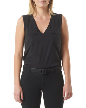 5.11 Tactical Women's Calypso Top , Black, hi-res