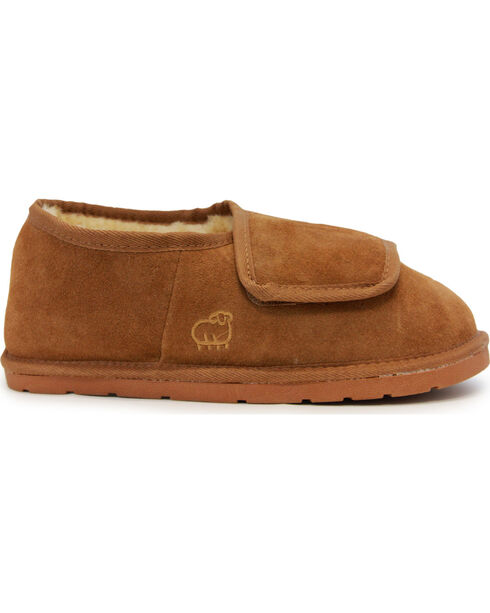 Lamo Footwear Men's Chestnut Wrap Bootie , Chestnut, hi-res