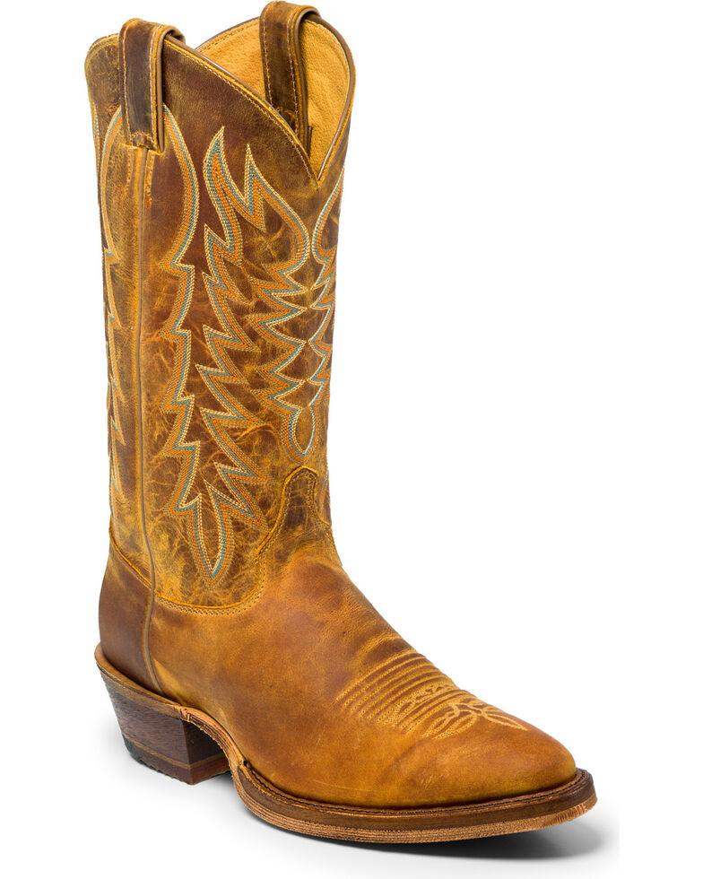 37a32bc4a62 Justin Men's Cognac Keaton Western Boots - Medium Toe