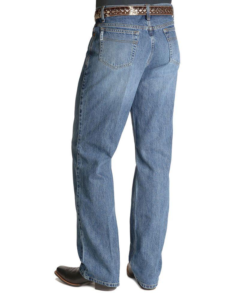 Cinch White Label Mid-Rise Jeans, Stonewash, hi-res