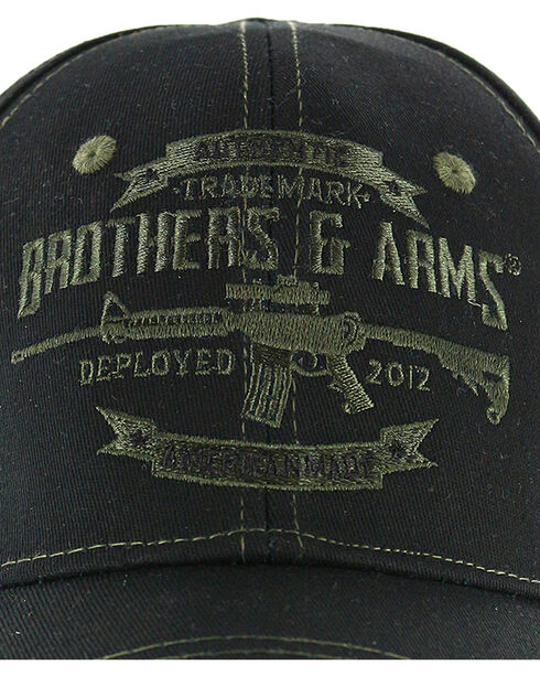 Brothers & Arms B&A Signature Cap, Black, hi-res