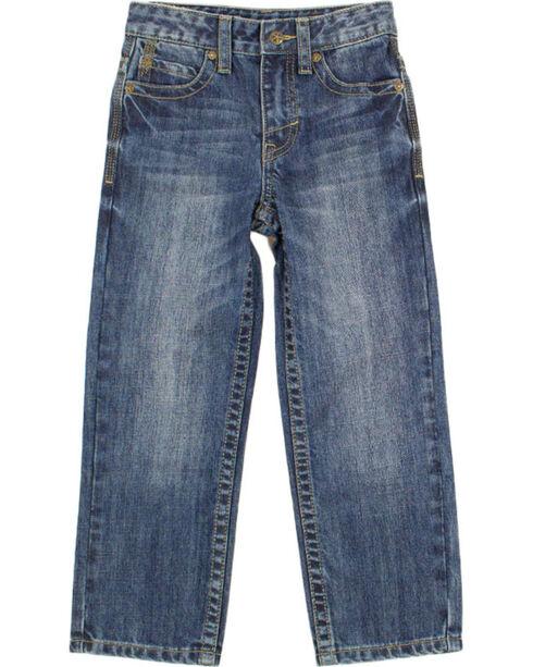 Cody James Boys' Medium Wash Straight Leg Jeans , Blue, hi-res