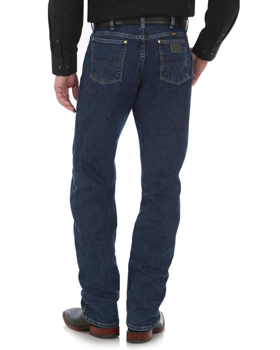 Wrangler George Strait Men's 47 Cowboy Cut Straight Leg Jeans - Tall, Blue, hi-res