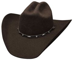 Bullhide Added Money Wool Cowboy Hat, Chocolate, hi-res