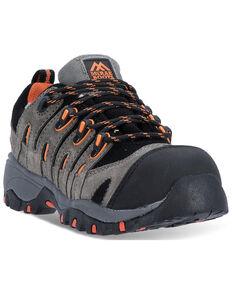 McRae Women's Grey Industrial Hiker Shoes - Composite Toe, Grey, hi-res