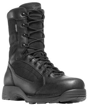 "Danner Striker Torrent 8"" Side-Zip Boots - Round Toe, Black, hi-res"