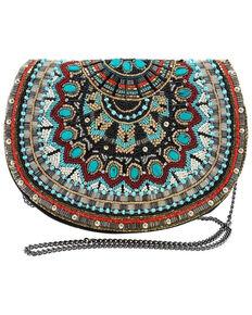Mary Frances Women's Girl Tribe Saddle Bag, Multi, hi-res