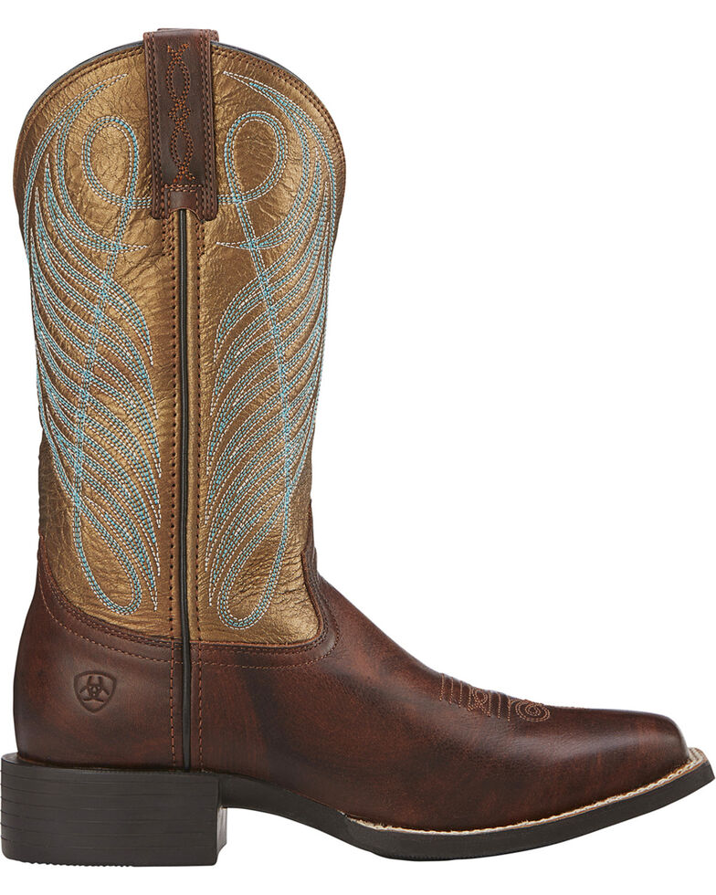 2104ce2ac7d Ariat Women's Round Up Cowgirl Boots -Square Toe