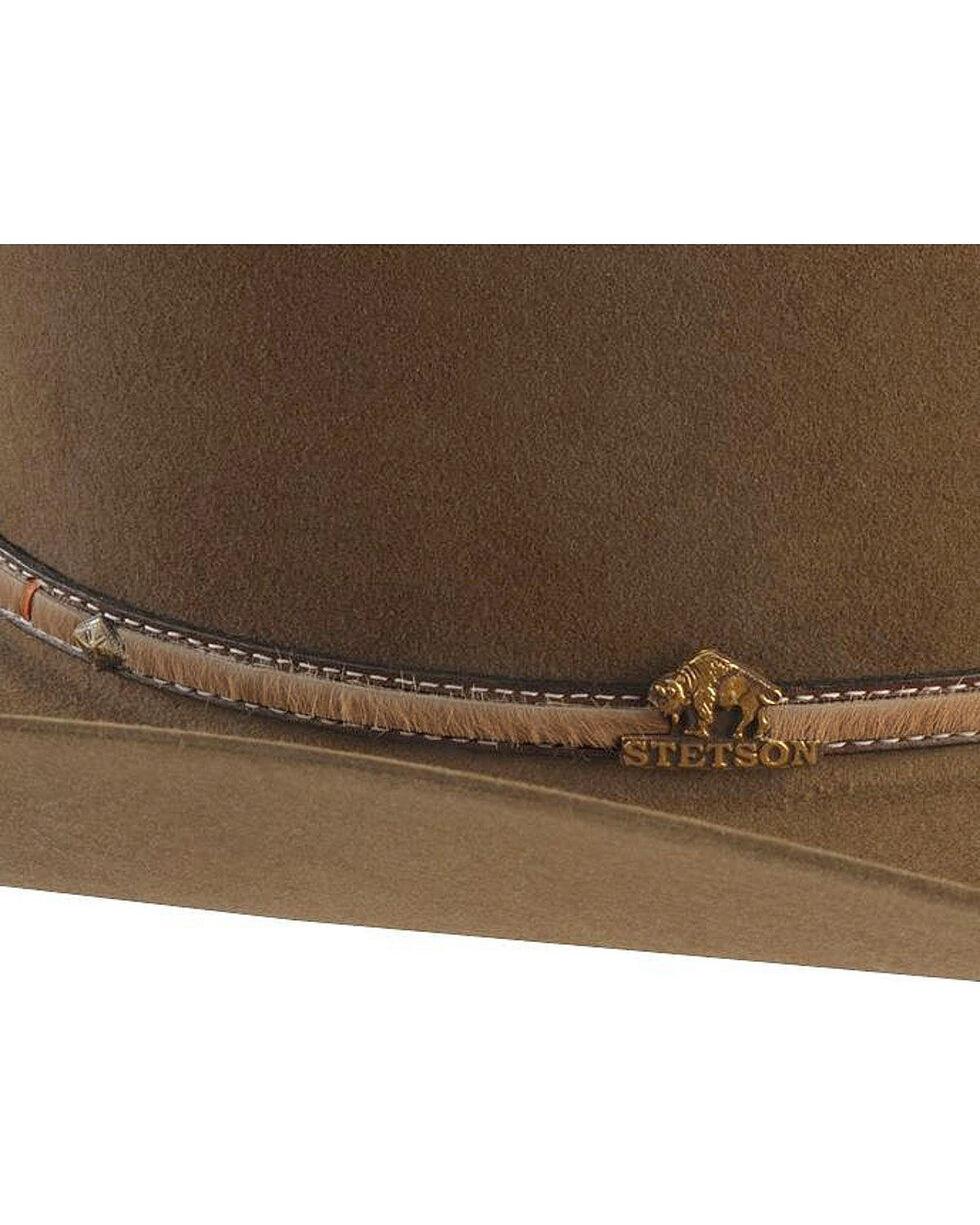 Stetson Powder River 4X Buffalo Felt Cowboy Hat, Mink, hi-res