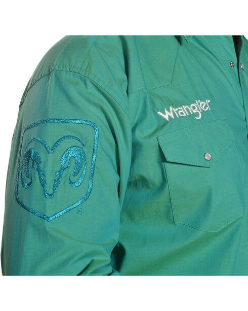 Wrangler Men's Ram Logo Western Shirt , , hi-res