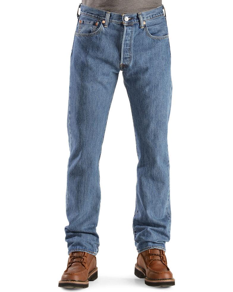 447d0cd3 Zoomed Image Levi's 501 Jeans - Original Prewashed, Stonewash, hi-res