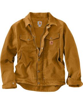 Carhartt Men's Pecan Berwick Jacket - Big & Tall, Pecan, hi-res